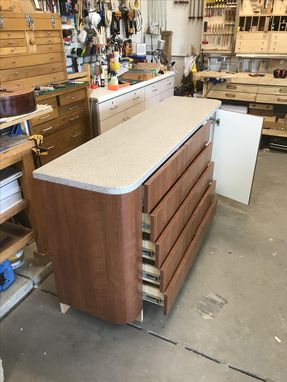 Custom Made Dental Office Cabinet