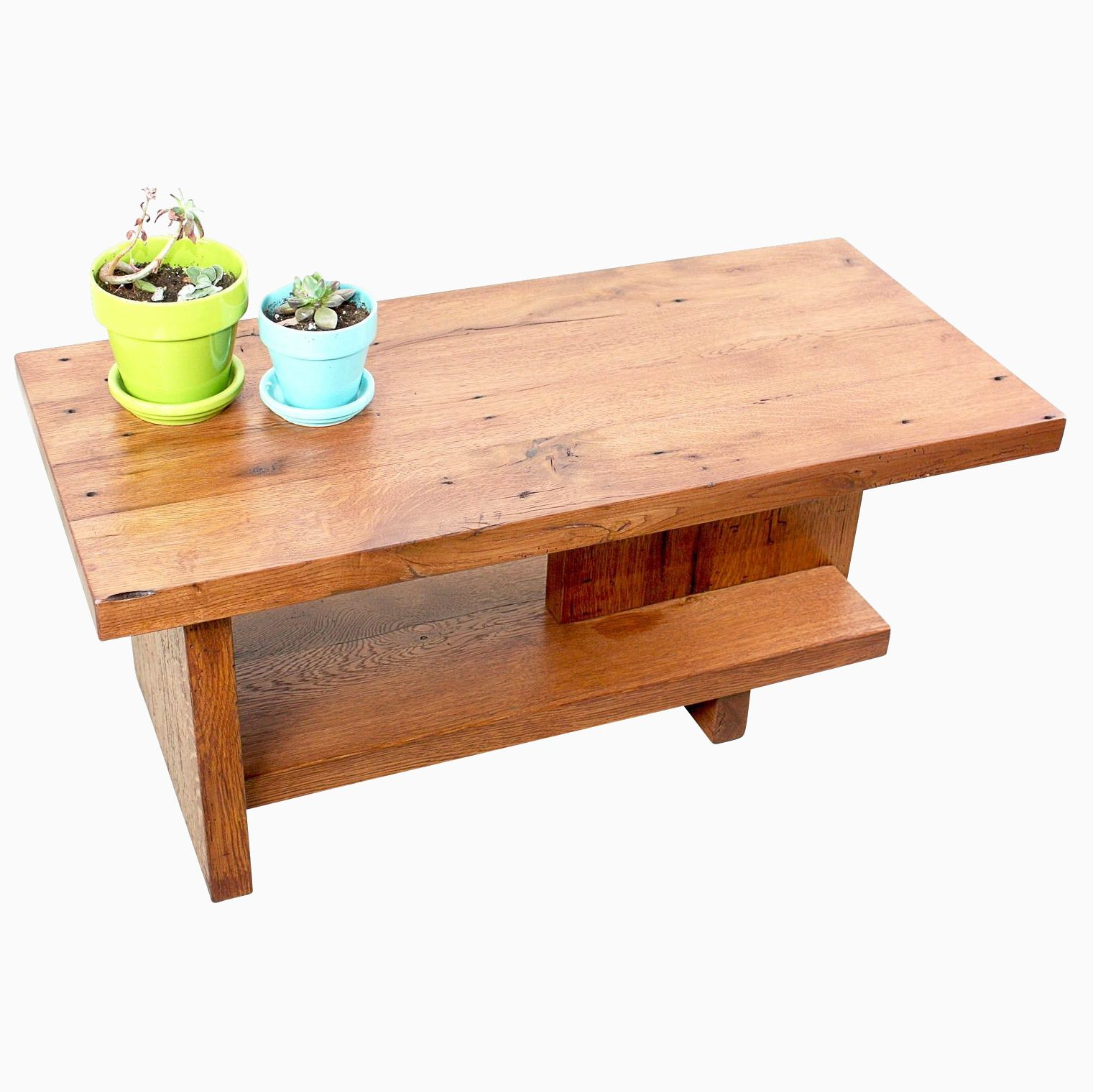 Make A Reclaimed Wood Coffee Table: Buy A Handmade Modern Reclaimed Wood Coffee Table, Made To