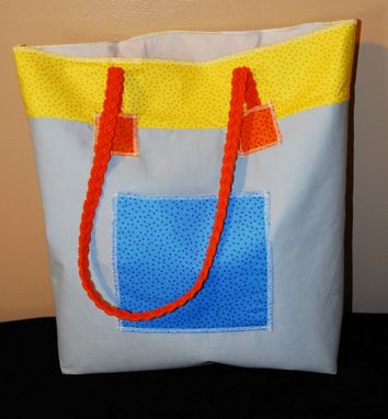 Custom Made Reversible Beach Bags