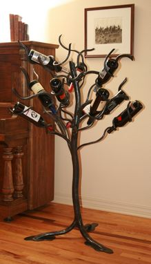 Custom Made Wildwood Wine Tree