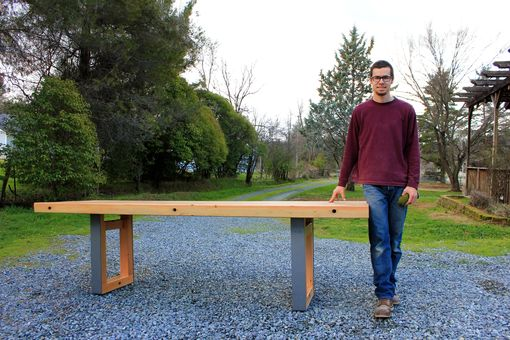Custom Made Mondo - Douglas Fir Dining Table