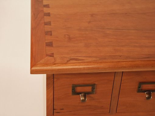 Custom Made Cherry Media Storage Chest