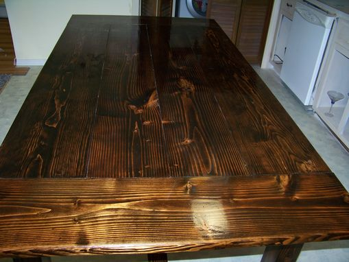 Custom Made Rustic Farmhouse Table
