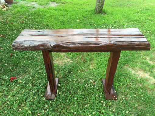 Custom Made Rescued Tall Hall Table