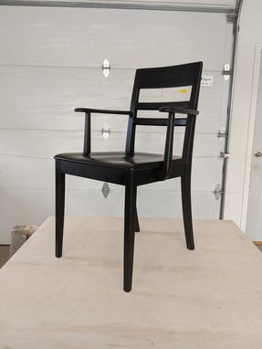Custom Made Dining Chair With Arms