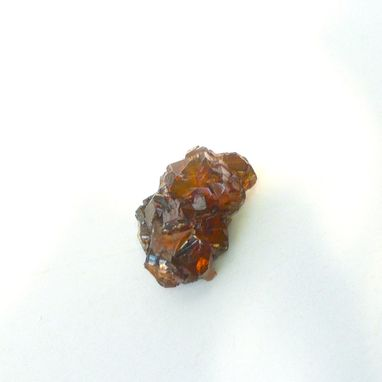 Custom Made Natural Crystal Spessartine Garnet Cola Brown Orange Mineral Specimen