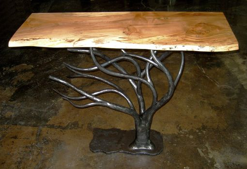Custom Made Tree Console Table