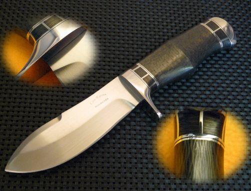 Custom Made Carbon Fiber Bullnose Skinner