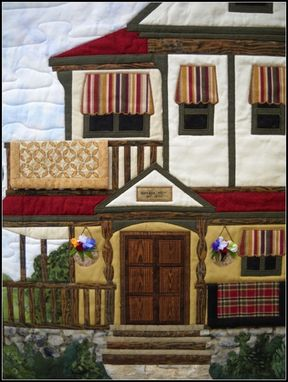 Custom Made The Homestead Victorian Wall Quilt