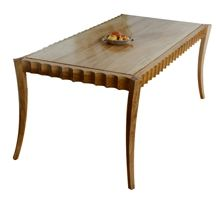 Custom Made Scallop Dining Table