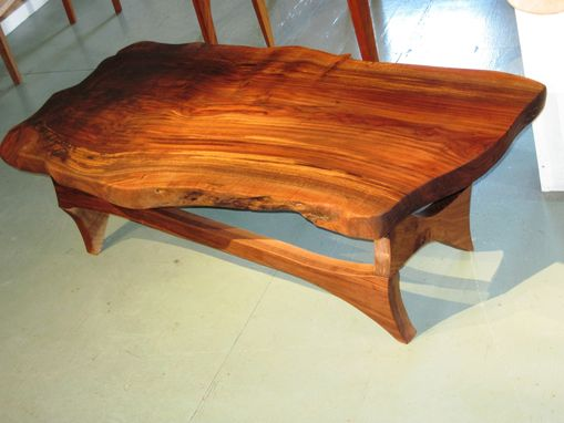 hand made natural edge black walnut coffee table by. Black Bedroom Furniture Sets. Home Design Ideas