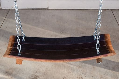 Custom Made Barrel Stave Swing