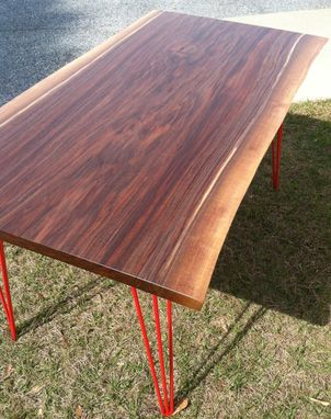 Custom Made (Sold) Live Edge Walnut Desk/Table