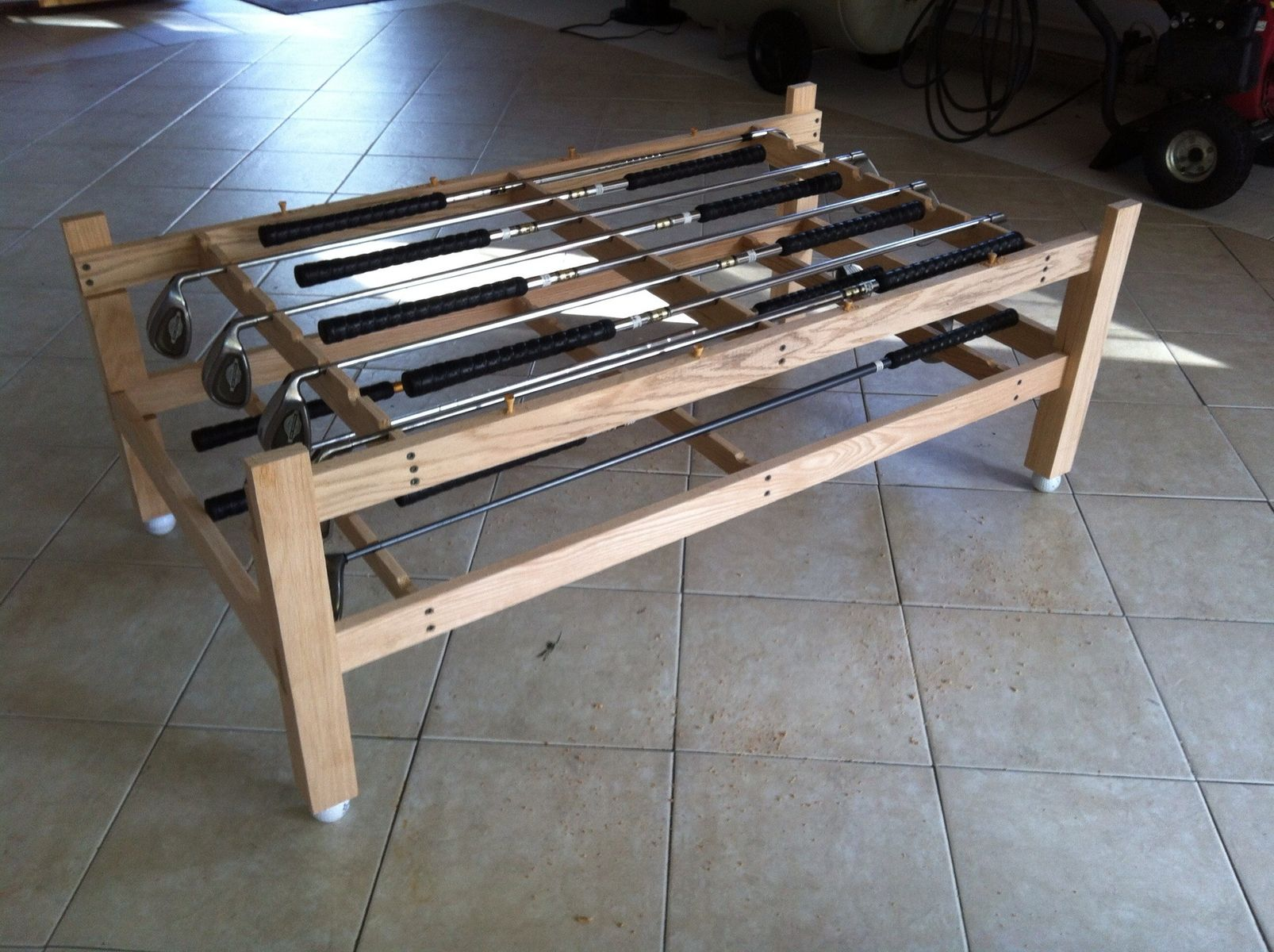 Custom Golf Club Coffee Table by John Clark