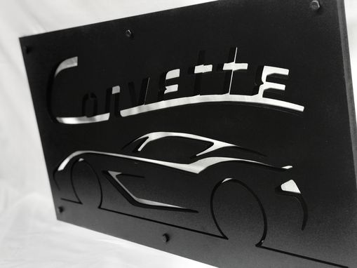 Custom Made Corvette Sign