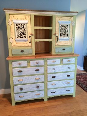 Custom Made Bedroom Hutch