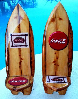 Custom Made Coca-Cola Surf Art