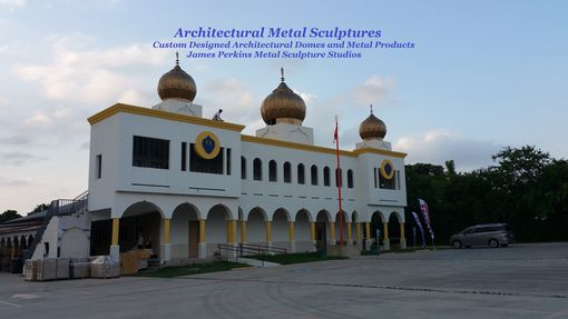 Custom Made Architectural Domes / Commercial Installations / Metal Sculptures
