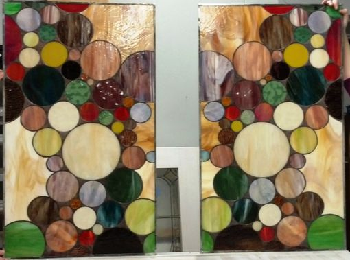 Custom Made Stained Glass Window Panel -(W-131)
