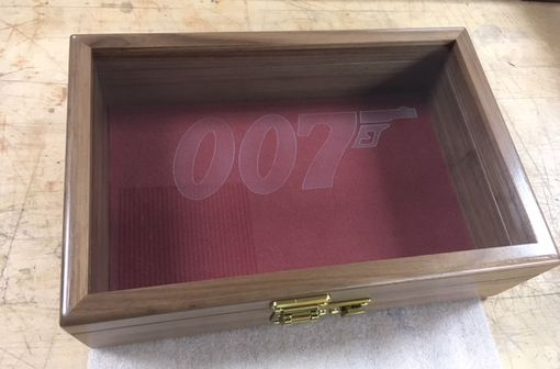 Custom Made James Bond Golden Gun Collector Case