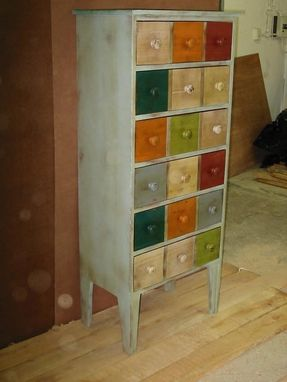 Custom Made Sideboard And Chest Of Drawers