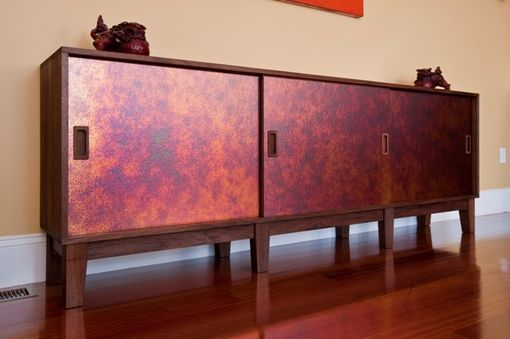 Custom Made Sunburst Sideboard