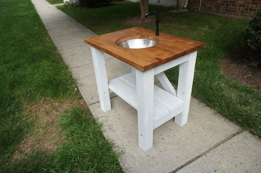 Custom Made Reclaimed Washbasin/Vanity