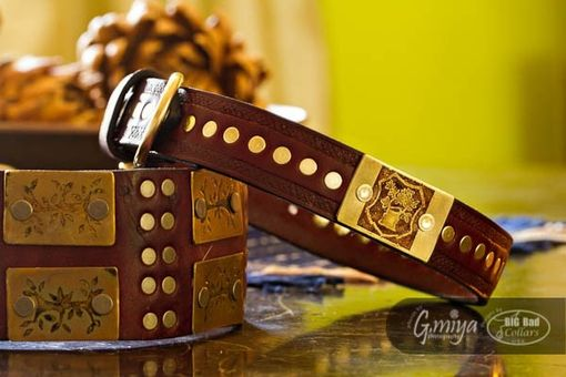 Custom Made Lord Of The Rings Styled Dog Collars