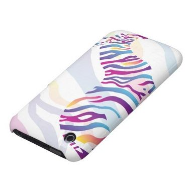 Custom Made Lucky Zebra Iphone 3gs Case