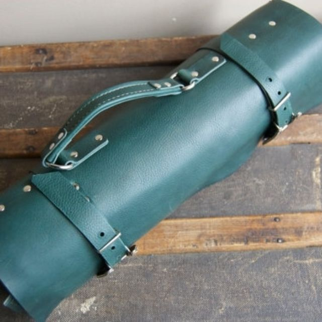 Custom Leather Knife Roll By Juli Steemson