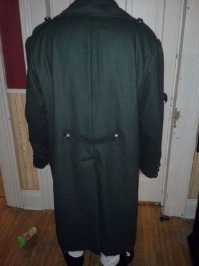 Custom Made Men's Double Breasted Wool Coat - Based On Fringe