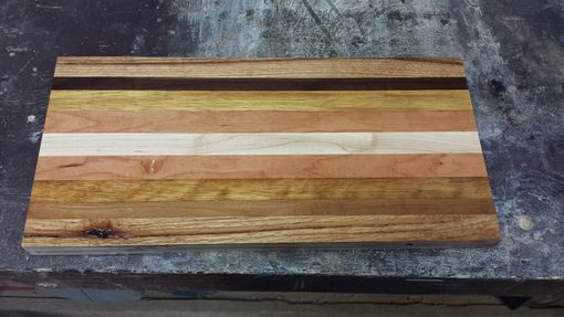 Custom Made Handmade One-Of-A-Kind Wooden Cutting Board - Personalize With Your Engraving