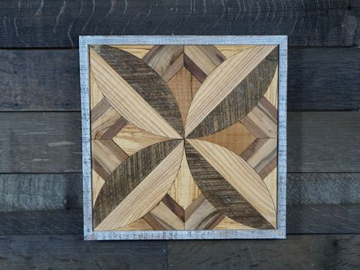 Custom Made Reclaimed Barnwood Artwork.