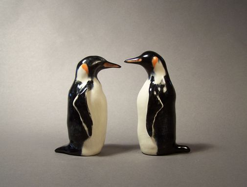 Custom Made Emperor Penguin Salt And Pepper Shakers