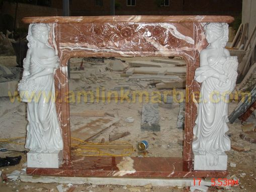 Custom Made Stone Fireplaces Marble Travertine Fireplace Surround
