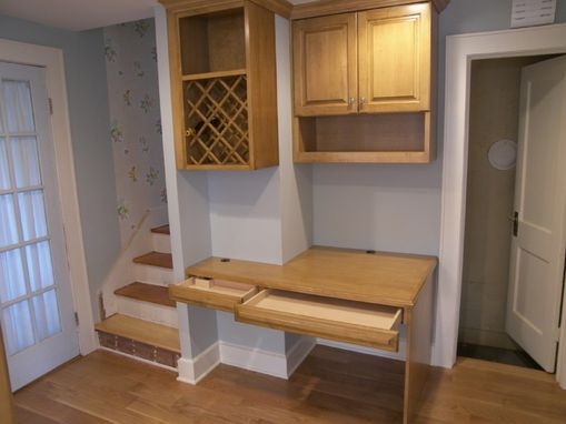 Custom Made Maple Kitchen Cabinets
