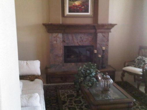 Custom Made Mantle And Hearth