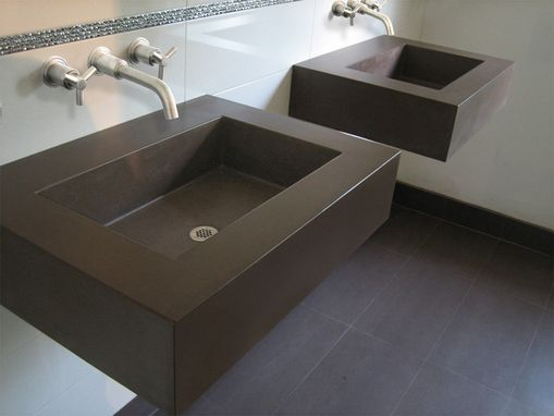 "Custom Made 30"" Floating Sink"