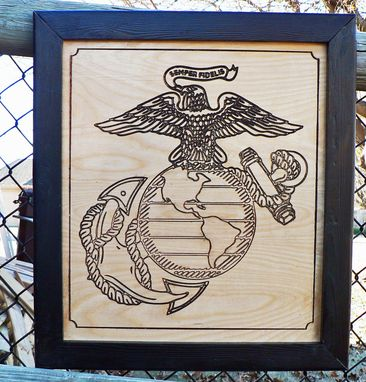 Custom Made Usmc Engraving Personalized