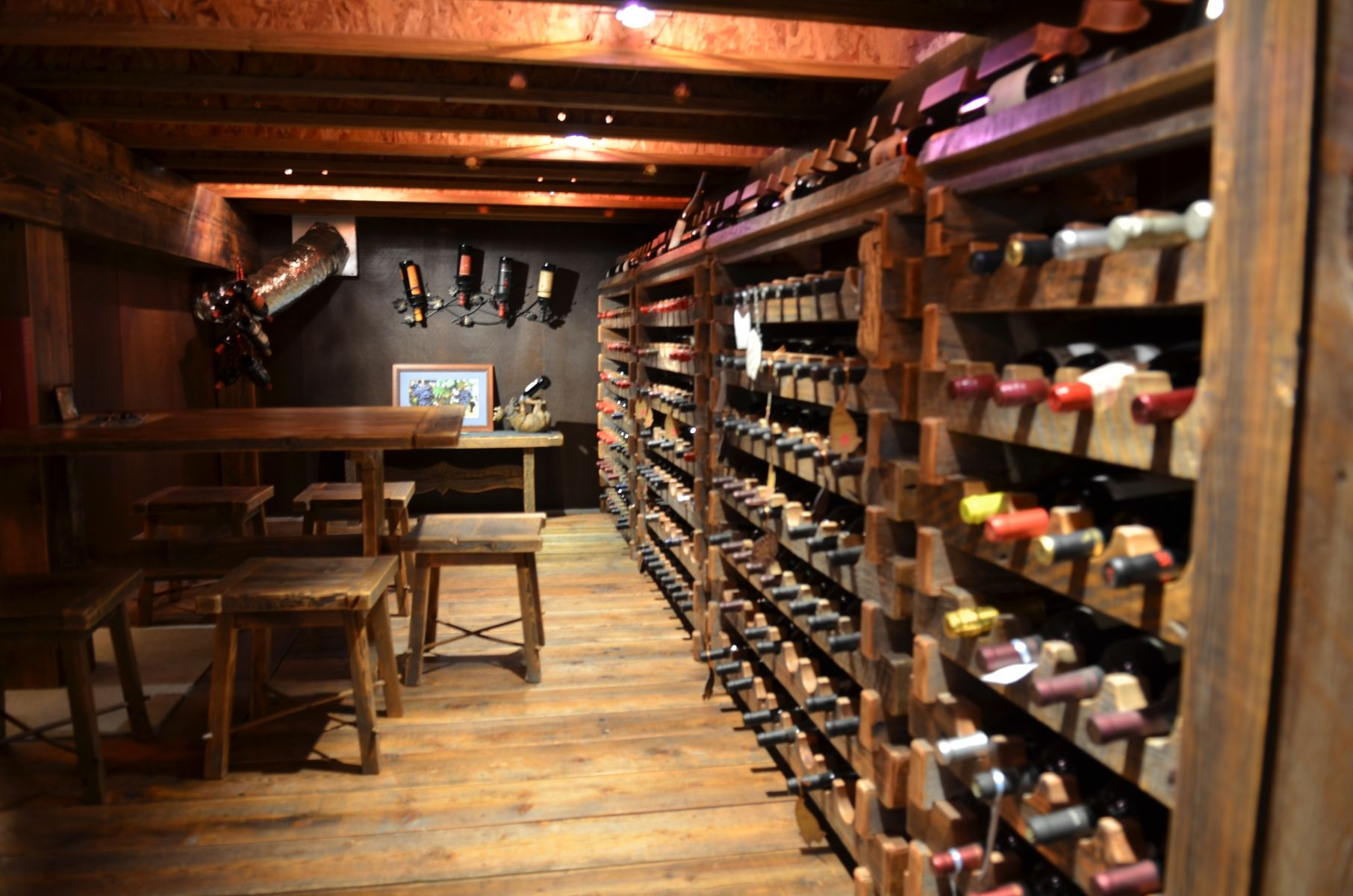 Magnificent Custom Wine Room Custommade Com Interior Design Ideas Tzicisoteloinfo