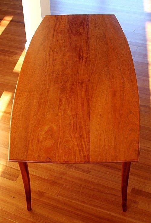 Custom Dining Table Honduras Mahogany By Hean Cabinetry