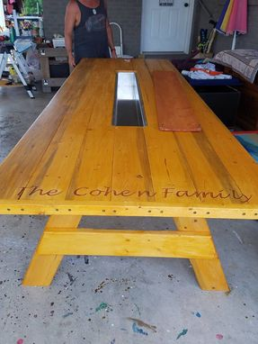 Custom Made Custom Picnic Tables