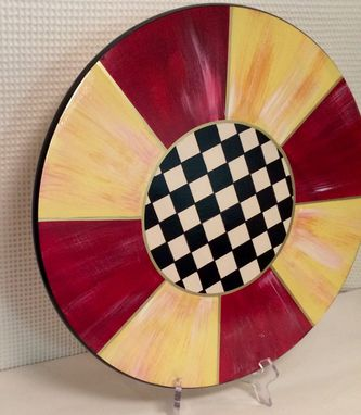 Custom Made Painted Lazy Susan // Painted Turntable // Whimsical Painted Lazy Susan