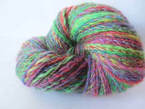 Custom Made Hand Dyed And Handspun By Fiber Creations