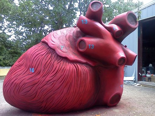 Custom Made Giant Heart Sculpture