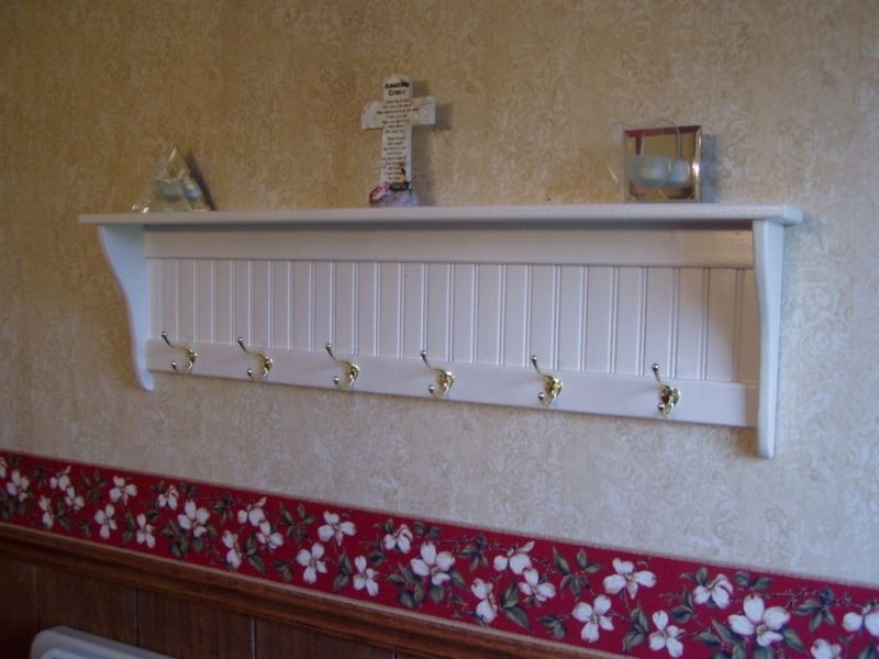 Hand Made Coat Racks And Wall Shelves By Letree Woodcrafts Gifts Custommade
