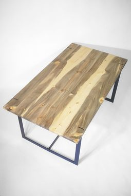Custom Made Blue Pine (Beetle Killed) Table