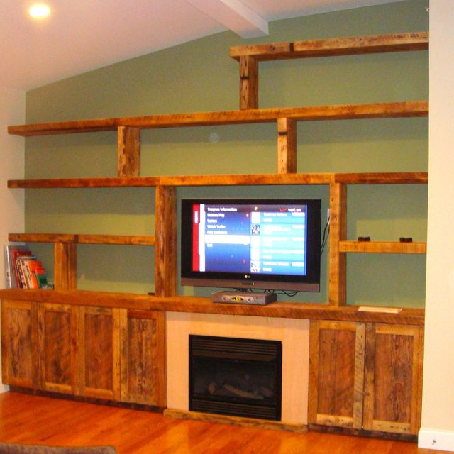 color painted entertainment center custom reclaimed wood wall unit by endless design custommadecom