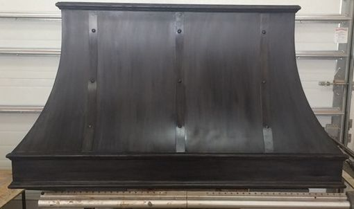 Custom Made Charcoal Finish Custom Steel Hood