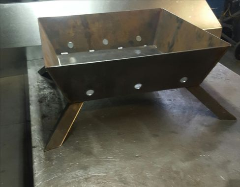 Custom Made Custom Square Fire Pit